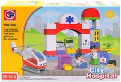 Kids Home Toys City hospital (188-124)