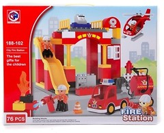 Фото Kids Home Toys Fire Station (188-102)