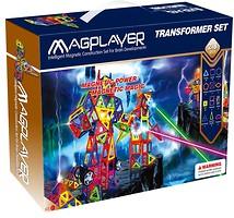 Фото Magplayer Магнитный конструктор 218 элементов (MPA-218)