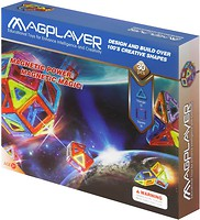 Magplayer Магнитный конструктор 30 элементов (MPB-30)