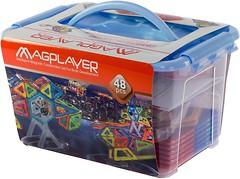 Magplayer Магнитный конструктор 48 элементов (MPT-48)