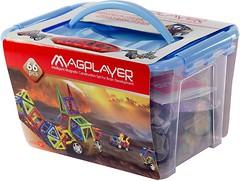 Magplayer Магнитный конструктор 66 элементов (MPT-66)
