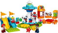 Фото LEGO Duplo Семейный парк аттракционов (10841)