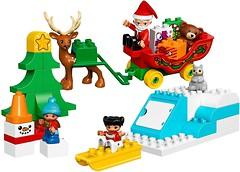 Фото LEGO Duplo Зимние каникулы Санты (10837)