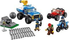 Фото LEGO City Погоня по грунтовой дороге (60172)