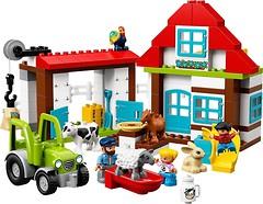 Фото LEGO Duplo Приключения на ферме (10869)