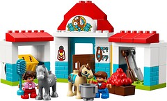 Фото LEGO Duplo Конюшня на ферме (10868)
