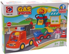 Фото Kids Home Toys Gas Station (188-80)