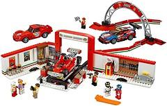 Фото LEGO Speed Champions Гараж Ferrari (75889)