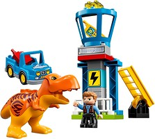 Фото LEGO Duplo Башня Ти-Рекса (10880)