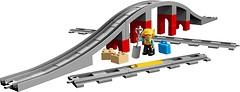 Фото LEGO Duplo Железнодорожный мост (10872)