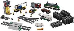 Фото LEGO City Грузовой поезд (60198)