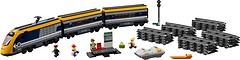 Фото LEGO City Пассажирский поезд (60197)