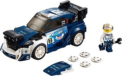 Фото LEGO Speed Champions Ford Fiesta M-Sport WRC (75885)