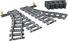 Фото LEGO City Железнодорожные стрелки (60238)