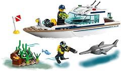Фото LEGO City Яхта для дайвинга (60221)