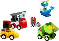 Фото LEGO Duplo Мои первые машинки (10886)