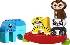 Фото LEGO Duplo Мои первые цирковые животные (10884)