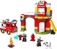 Фото LEGO Duplo Пожарное депо (10903)
