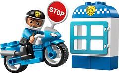 Фото LEGO Duplo Полицейский мотоцикл (10900)
