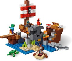 Фото LEGO Minecraft Приключения на пиратском корабле (21152)