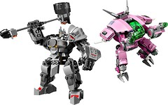 Фото LEGO Overwatch Д.Ва и Райнхардт (75973)