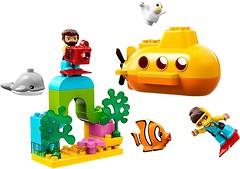 Фото LEGO Duplo Путешествие субмарины (10910)