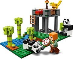 Фото LEGO Minecraft Питомник панд (21158)