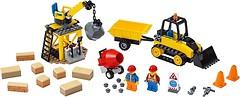 Фото LEGO City Строительный бульдозер (60252)