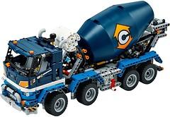 Фото LEGO Technic Бетономешалка (42112)