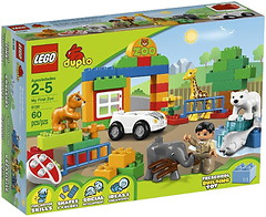 Фото LEGO Duplo Мой первый зоопарк (6136)