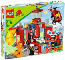 LEGO Duplo Пожарная станция (5601)