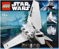 LEGO Star Wars Имперский Шатл (10212)