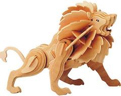 Фото Мир деревянных игрушек Лев (Е013)