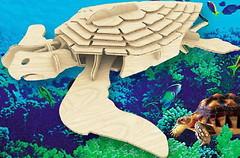 Фото Мир деревянных игрушек Морская черепаха (Е009)
