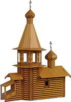 Фото Умная бумага Деревянная церковь (039)