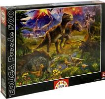 Фото Educa Встреча динозавров (15969)