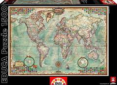 Фото Educa Карта мира (16005)