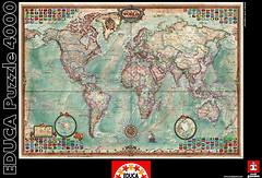 Фото Educa Политическая карта мира (14827)