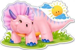 Фото Castorland Розовый динозаврик (B-120048)