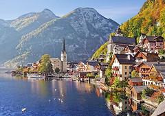Фото Castorland Хальштадт, Австрия (C-400041)