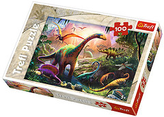 Фото Trefl Мир динозавров (16277)