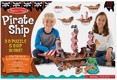 Фото Melissa & Doug Пиратский корабль (MD9045)