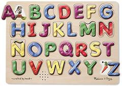 Фото Melissa & Doug Испанский алфавит (MD723)