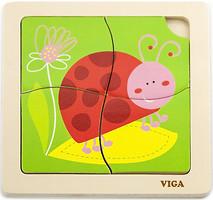 Фото Viga Toys Божья коровка (50140)