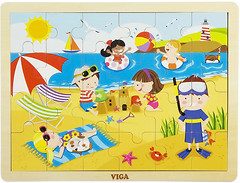 Фото Viga Toys Времена года Лето (51270)