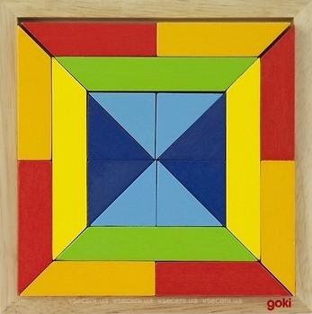 Фото Goki Мир форм - квадрат (57572-3)