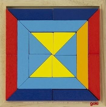 Фото Goki Мир форм - треугольники (57572-1)