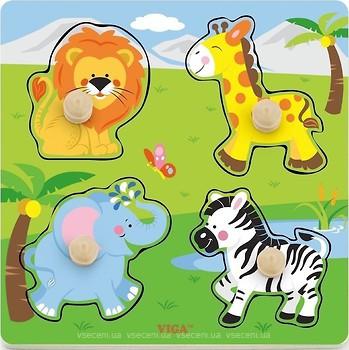 Фото Viga Toys Дикие животные (50840)