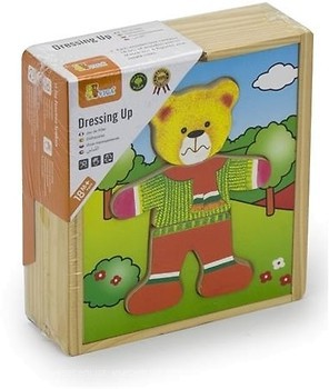 Фото Viga Toys Гардероб медведя (56401)